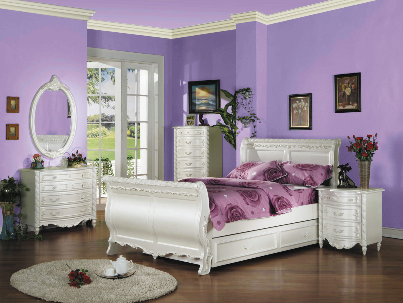 charming teen girl bedroom sets | Youth Bedroom | Unique Furniture